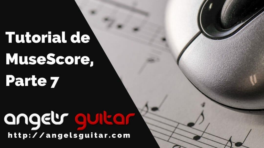 Tutorial de MuseScore, Parte 7: Notación de Música Jazz/Popular