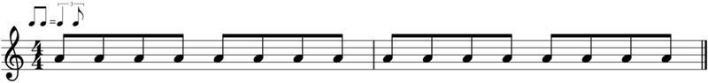 ritmo shuffle