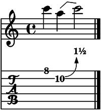 bend tono y medio cuerda 2