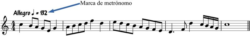 Marca de Metrónomo