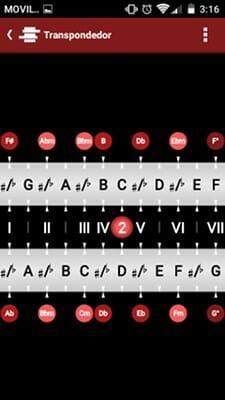 EmartChord Transpondedor de acordes