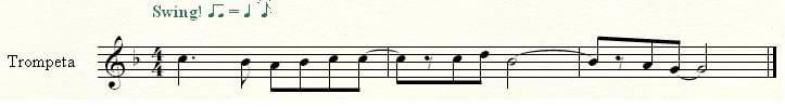 Sonido real - trompeta en C
