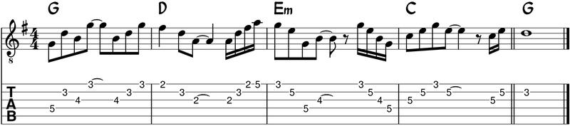Clave 3 - solo arpegios