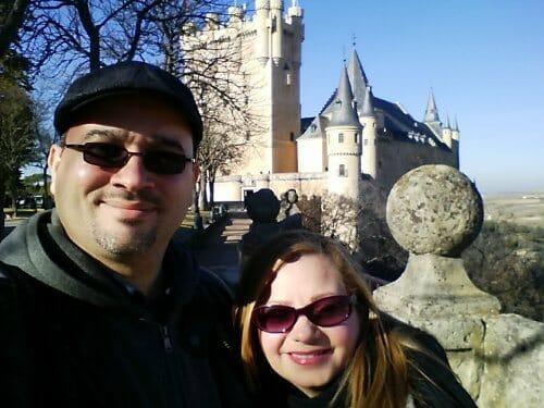 En el Alcázar de Segovia