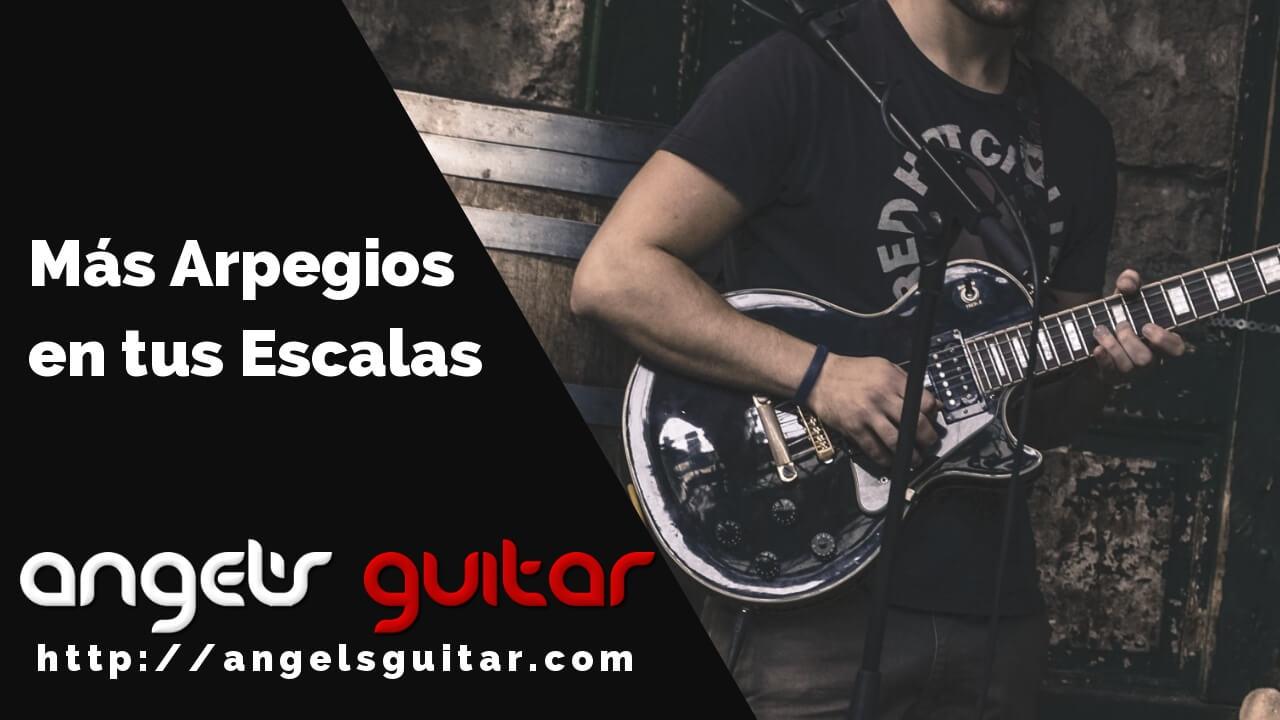 Cómo utilizar los arpegios en un solo de guitarra