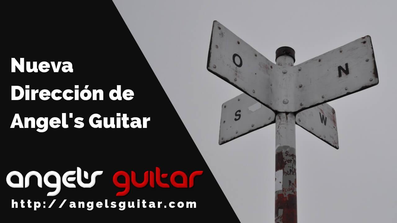 La Nueva Dirección de Angel's Guitar
