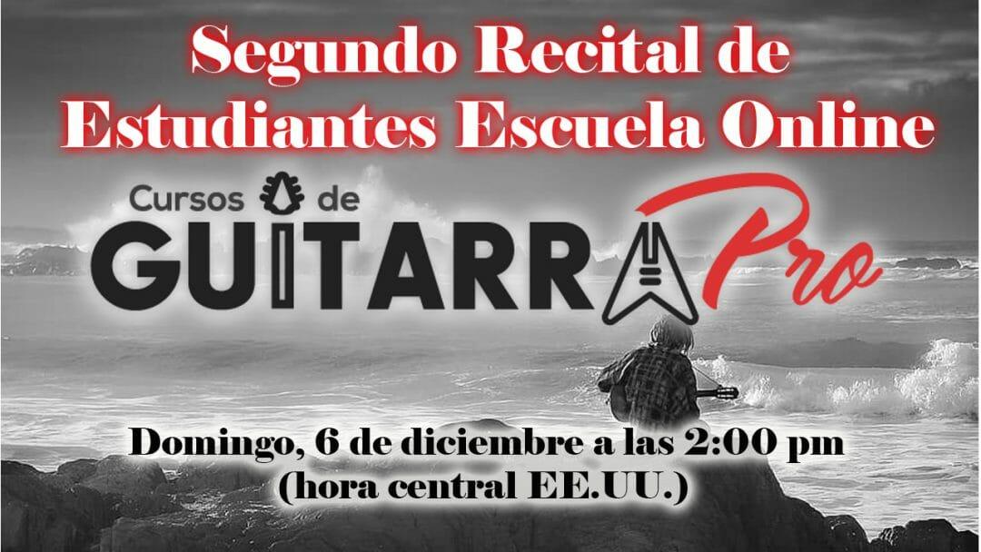 Recital Virtual de Alumnos – Diciembre 2020